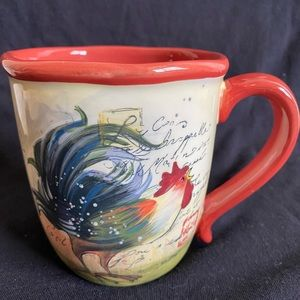 Susan Winget Rooster Mug/Certified International
